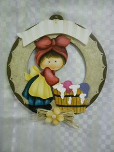 Arte Country, Pintura Country, Tole Painting, Painting On Wood, Wooden Cutouts, Wood Art, Wood Crafts, Cute Girls, Decoupage