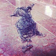 Wire bird I made. - @noritoy- #webstagram