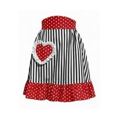 The apron. The quintessential 50's housewife accessory?