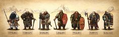 The seven houses of the Kazhad. An enduring theme in my mind that intrigued me from the first time I read Tolkien's work. I have been developing this idea for years now and it is with great s...