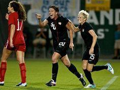 Gotta love women's soccer!