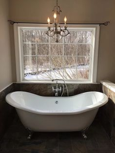 Photo After Photo Freestanding Tub In Bathroom Renovation In Old - Bathroom contractors ct