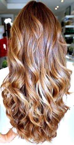 Bride's long #curls #hair ideas ToniK #Wedding #Hairstyles ♥ ❶ Beautiful #color #bridesmaid #prom