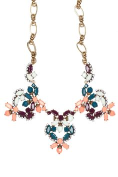 Coral Butterfly Necklace by Stella + Ruby on @HauteLook