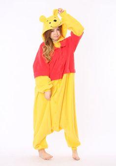 Kigurumi Shop   Winne the Pooh Kigurumi - Animal Costumes