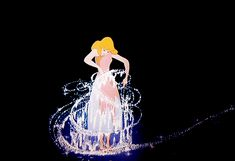 The transformation of Cinderella's torn dress to that of the white ball gown as seen in Cinderella was considered to be Walt Disney's favorite piece of animation.