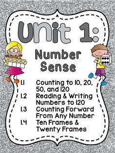 Unit 1 of the popular first grade math series is finally posted! Over 200 pages of Number Sense differentiated activities, worksheets, and centers!