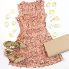 """""""It's almost wedding season, make sure you don't stress in search for that dress! Shop our #NewestArrivals including the 'Lace Skater Dress' online and in-…"""""""
