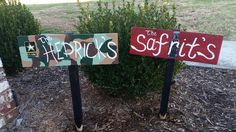 Pallet sign yard sign hand painted by Wendy, Speaks Creations