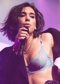 Dua Lipa | The Bra Queen | ( If you like my pins then pls. Follow my boards for more updates )