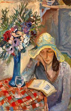 CHAPIRO, JACOB   Girl Reading