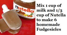 Nutella, not just for straight out of the container