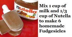 Nutella Fudgesicles