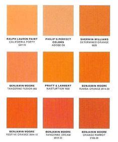 Ideas For Kitchen Paint Colors Orange Front Doors Burnt Orange Paint, Orange Accent Walls, Orange Paint Colors, Bookshelves Built In, Orange Front Doors, Orange Door, Kitchen Paint Colors, Interior Paint Colors