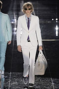Gucci Spring 2009 Menswear Fashion Show Collection