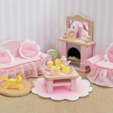 Wohnzimmer Daisy Lane Puppenhaus  LE TOY VAN
