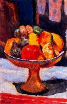 Pierre Bonnard - Le-Compotier. #artists #bonnard