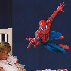 Amazing Super Spider-man Hero Vinyl Wall Stickers Art Decals Kids Boy Room Decor