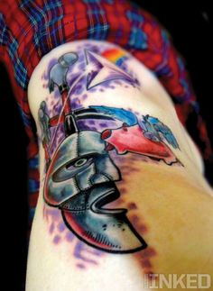 Pink Floyd Tattoo by Daniel Acosta Leon