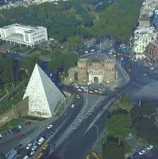 Resultado de imagen para roma piramide cestia