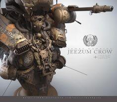 ArtStation - Jeezum Crow, James Hawkins