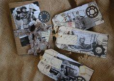 Vintage tags.