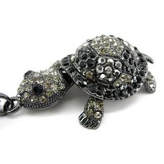 Super Lovely Black Tortoise Turtle Animal Czech Crystal Necklace | Jewelry & Watches, Fashion Jewelry, Necklaces & Pendants | eBay!