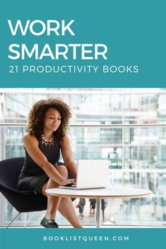 Work smarter not harder. With these best books on productivity, you'll find yourself getting more done in less time and with less stress. Find the best books for productivity and the best time management books on this must-read book list. #productivityhacks #productivitybooks