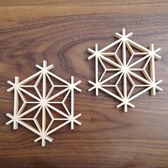 Mini Kumiko Coaster Japanese Traditional Hand Crafted Wooden Work