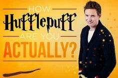 What Per Cent Hufflepuff Are You? I Got: 10% Hufflepuff!You're not very Hufflepuff at all – the likelihood is that you identify more with one of the other houses. Perhaps more of a Slytherin?