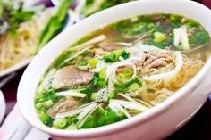 """Phở – Viet Nam in a bowl, heaven in a spoon, culture in a sip"" - Peta Mathias"