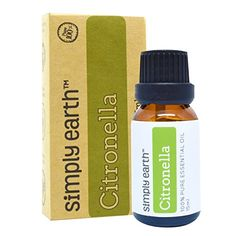 Citronella Essential Oil Ceylon by Simply Earth  15 ml 100 Pure Therapeutic Grade * Continue to the product at the image link.