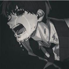 Nuu kaneki don't cry T~T -) he just likes to nreak everybody's heart - Anime Manga Anime, Sad Anime, Anime Guys, Anime Art, Anime Crying, Manga Tokyo Ghoul, Ken Kaneki Tokyo Ghoul, Deku Anime, Anime Triste
