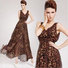 Vestido Onça Fashion