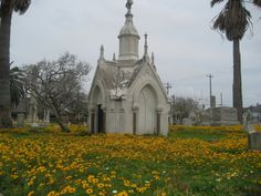 Galveston Broadway Cemetery! Very old and said to be haunted......