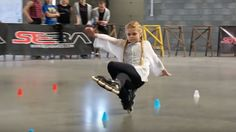 Girl With Insane Skating Skills