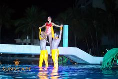 The best show of #Ixtapa, only here at Sunscape Dorado Pacifico Ixtapa! Come and enjoy the Aquatic Show!