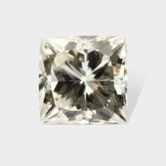 0.22 ctw, 3.34x3.30 mm, Canary Yellow, VS-1 Clarity, Fancy Princess Cut Diamond #diamonds #loosediamonds #yellowdiamonds #fancydiamonds @dmzdiamonds Canary Yellow Diamonds, Princess Cut Diamonds, Clarity, Diamond Cuts, Fancy