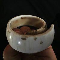 a TREASURE!!!! 19th century shell bracelet (TOP) bride price Papua (New Guinea)