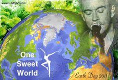 One Sweet World Earth Day 2011 LJMSArt