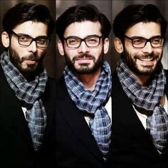 One of the most handsome men in Pakistan. Different expressions of Fawad Khan - Looking good!