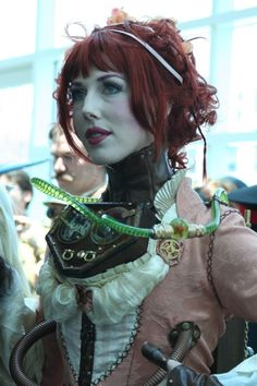 Not sure if we've posted this steampunk beauty or not.  Feel free to submit! We need the help!