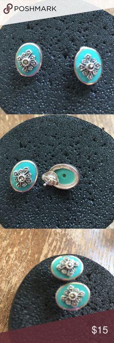 Earrings Sterling silver solid 925 and turquoise Earrings Sterling silver solid 925 and turquoise Jewelry Earrings