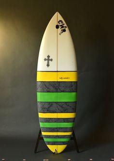 Quad fin surfboard CWR