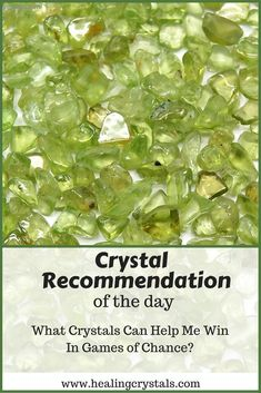 What crystals can help me win in a game of chance? #crystals #healingcrystals #luck #chance
