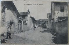 1918 Villareggia - Via S. Martino Società Editrice Cartolina -Torino -Milano cartolina con con francobollo Italia da 10 cent.
