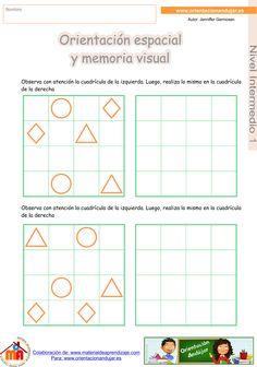 ORIENTACIÓN ANDÚJAR: Super cuadernillo nº 2 de Orientación espacial y memoria visual