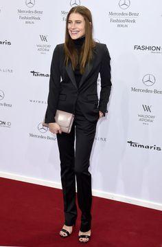 Pin for Later: Die Stars besiedeln Berlin während der Fashion Week Dree Hemingway