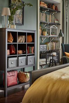 Diy Bow, Diy Hair Bows, Ikea Ideas, Hemnes, Bookcase, Bedroom, Girls, Home Decor, Homes