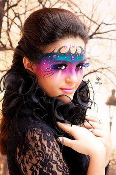 Maquiagem artística, face painting, face painter, maquillaje artistico, maquiadora.